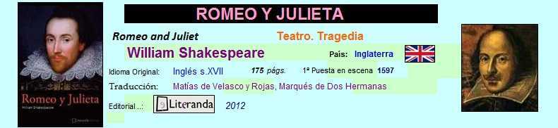 Acceso directo al final de Romeo y Julieta de William Shakespeare